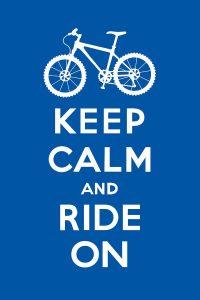Keep Calm, biking in Chatham