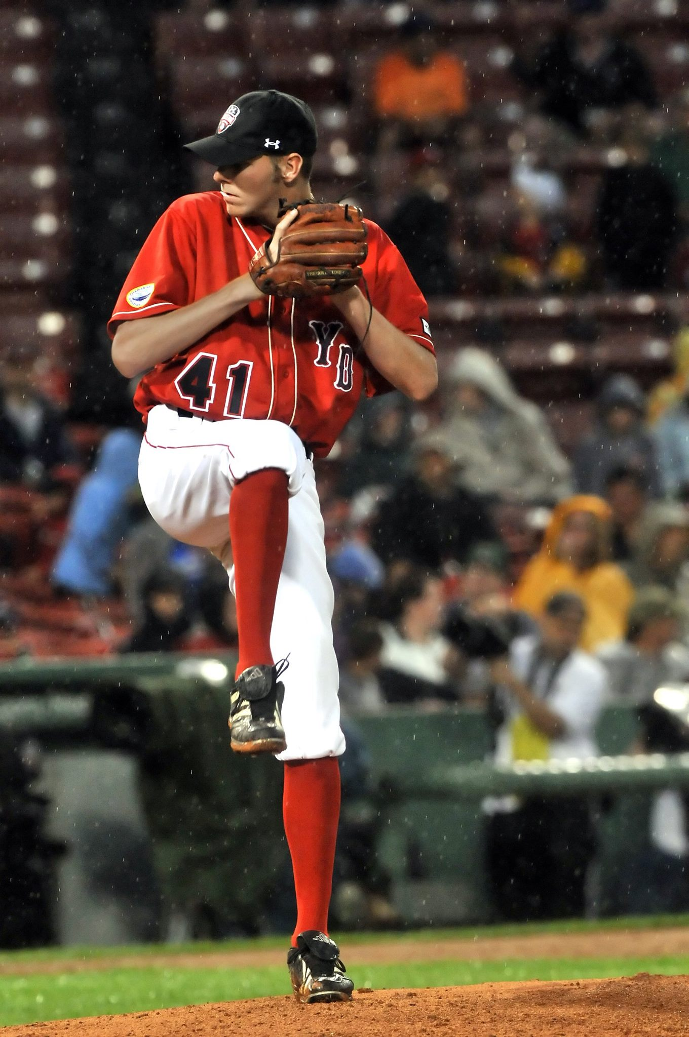 Chris Sale (Y-D '09) became first MLB pitcher since 2002 to record 170 K's before All-Star break. Sale, shown in SportsPix photo at 2009 CCBL All-Star Game at Fenway Park, was Cape League's Outstanding Pitcher and East ASG MVP. He's odds-on choice to start mid-summer classic for American League.